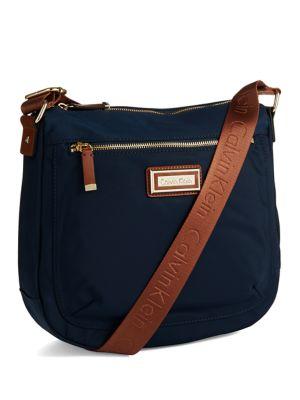 Nylon Crossbody Bag @...