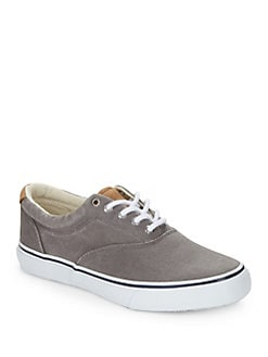 aa98eb93279 QUICK VIEW. Sperry. Striper LL Canvas Lace-Up Sneakers