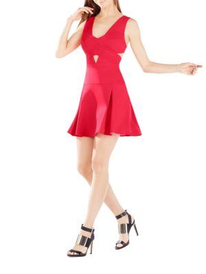 Cutout A-Line Dress by BCBGMAXAZRIA