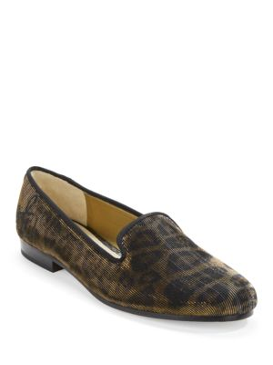 Hurlie Leopard Loafers by Sam Edelman