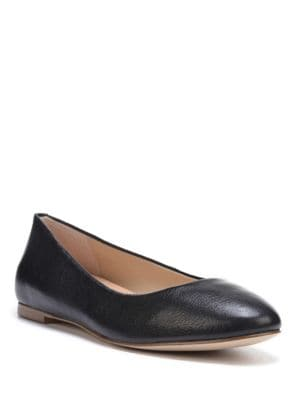 Vixen Leather Ballet Flats by Dr. Scholl's