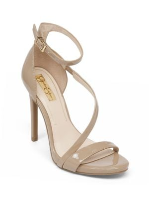 Asymmetrical Strap Heels by Jessica Simpson