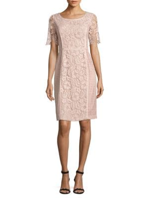 Roundneck Lace Dress by Nue By Shani