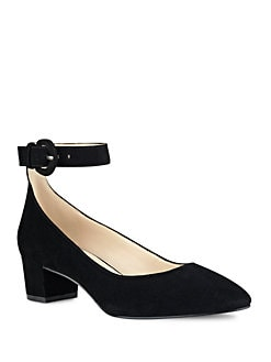 06c299800c24 Product image. QUICK VIEW. Nine West. Brianyah Suede Block Heels