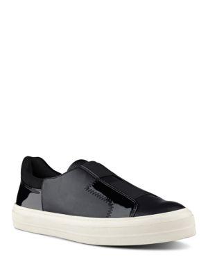 Obasi Colorblock Slip-On Sneakers by Nine West