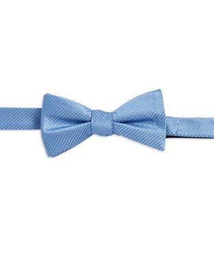 Textured Silk Bow Tie...