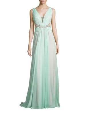 Photo of Glamour by Terani Couture Embellished Sleeveless Gown