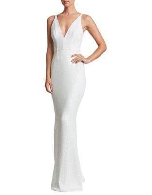 Harper Sequined Gown by Dress The Population