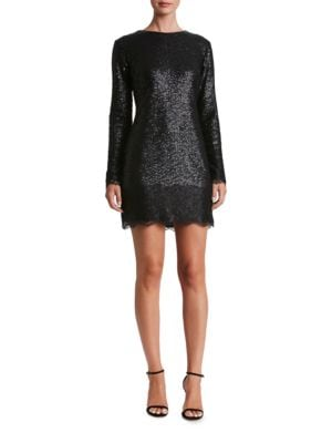 Kate Sequined Sheath Dress by Dress The Population