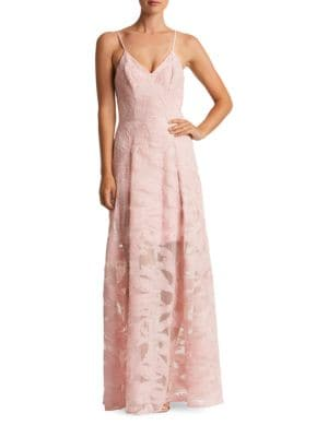 Florence Embroidered Lace Gown by Dress The Population