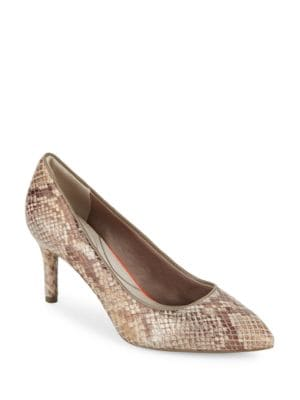 Photo of Total Motion Pointed Toe Pumps by Rockport - shop Rockport shoes sales
