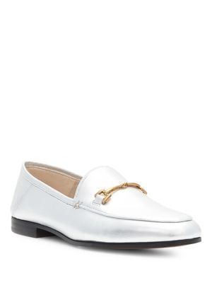 Loraine Round Toe Leather Loafers by Sam Edelman