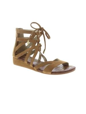Girl's Danica Faux-Suede...