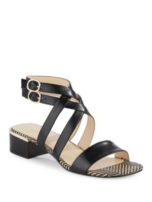 Yesta Leather Sandals by Nine West