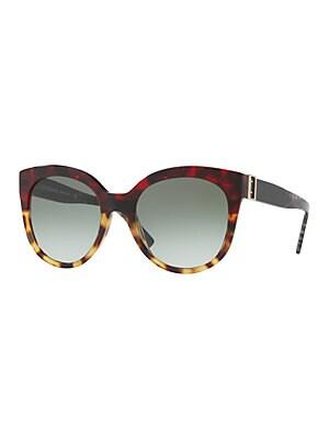fb09c0f82a Burberry - ITA Universal Fit 55MM Cat Eye Sunglasses - lordandtaylor.com