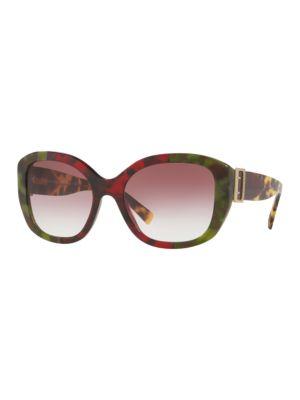 57MM Gradient Sunglasses
