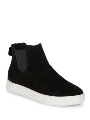 Baxton Waterproof Suede Slip On Sneakers by Blondo