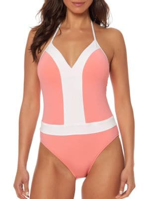 Solids One-Piece Swimsuit by Bleu By Rod Beattie