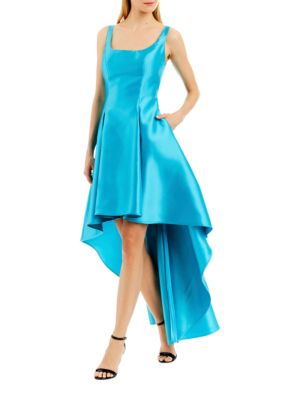 Asymmetric-Hem Sleeveless Dress by Nicole Miller New York