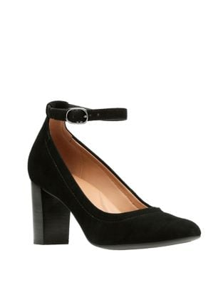 Chrysa Suede Pumps by Clarks