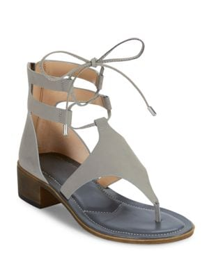 Chessa Open Toe Leather Sandals by Charles by Charles David