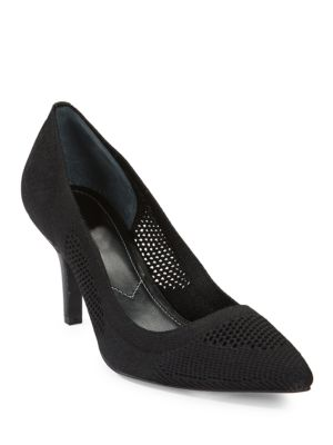 Strung Stretch Knit Mid Pumps by Charles by Charles David
