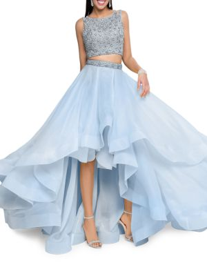 Two-Piece Embellished Prom Dress Set by Glamour by Terani Couture