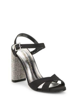 Hayley Embellished Evening Sandals by Caparros