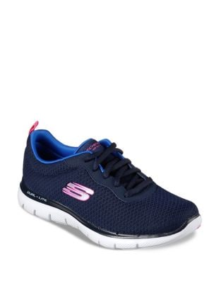 Newsmaker Lace-Up Sneakers by Skechers