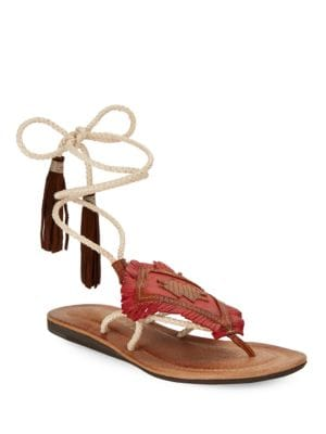 Bronte Leather Wrap Sandals by Matisse