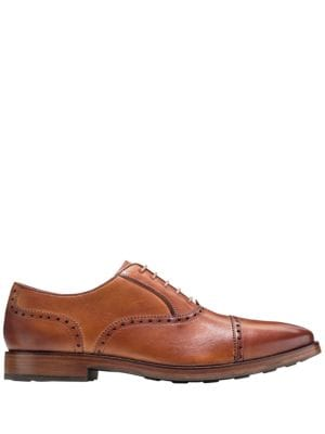 Brogue Leather Oxfords...