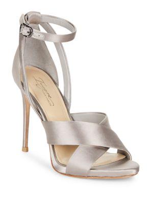 Dairren Satin Ankle Strap Dress Sandals by Imagine Vince Camuto