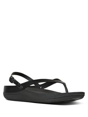 Flip Leather Back Strap Sandals by FitFlop