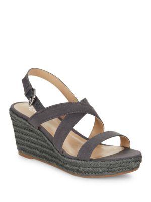 Katerina Platform Wedge Sandals by Lauren Ralph Lauren