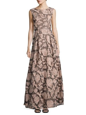 Sequined Lace Gown by Karl Lagerfeld Paris