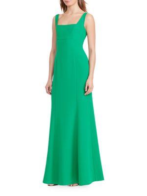Crepe Flared Gown by Lauren Ralph Lauren