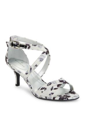 Nakayla Printed Dress Sandals by Bandolino