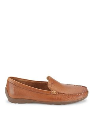 Leather Loafers @...
