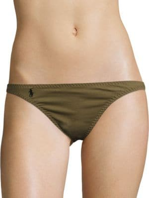 Military Hipster Bikini by Polo Ralph Lauren