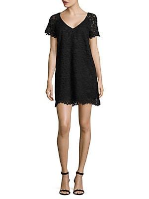 Bb Dakota Lace Shift Dress Lordandtaylorcom