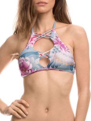 Birds of a Feather Bikini Top by Isabella Rose