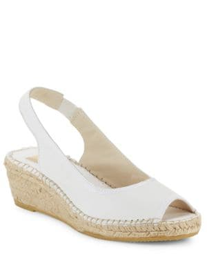 Sofia Slingback Espadrille Wedge Sandals by Vidorreta
