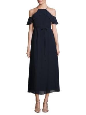 Ruffled Overlay Dress by Gabby Skye