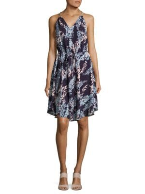 Floral V-Neck Dress by Nicole Miller New York