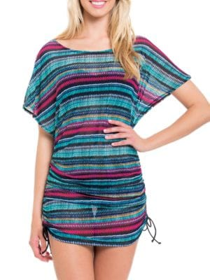 Printed Mesh Coverup by Profile By Gottex