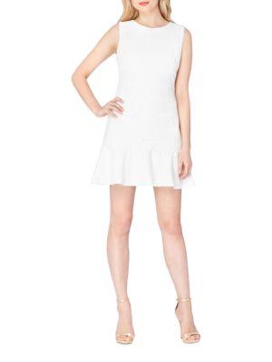 Sleeveless Lace Dress by Tadashi Shoji