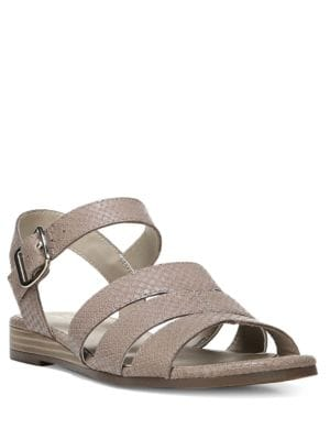 Kaye Leather Wedge Sandals by Naturalizer