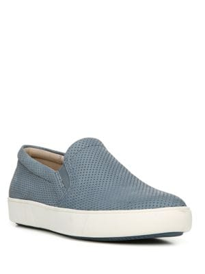 Marianne Perforated Leather Slip-On Sneakers by Naturalizer