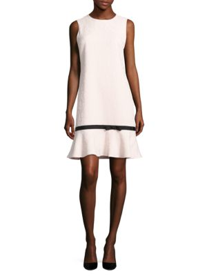 Sleeveless Floral-Motif Dress by Karl Lagerfeld Paris