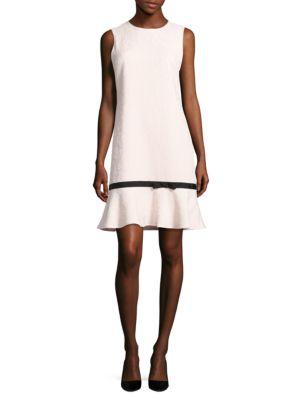 Sleeveless Floral-Motif Dress by Karl Lagerfeld Paris